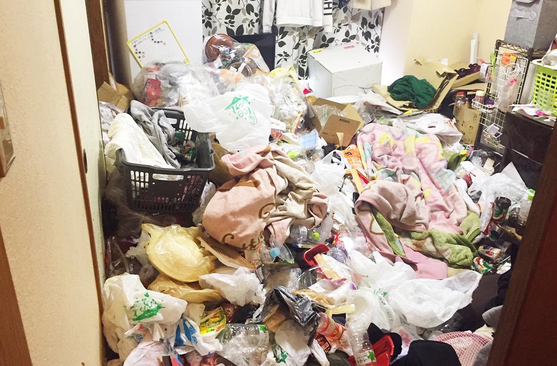 ゴミ屋敷の片づけ