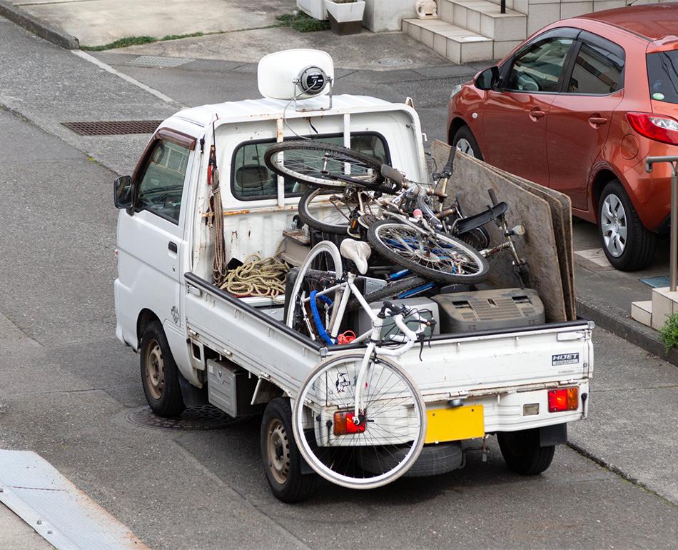 目黒区で廃品回収車など不用品回収業者をお探しの方は『不用品回収 ...